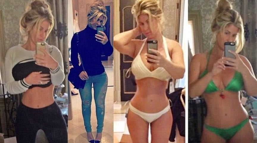kim zolciak new body after tummy tuck