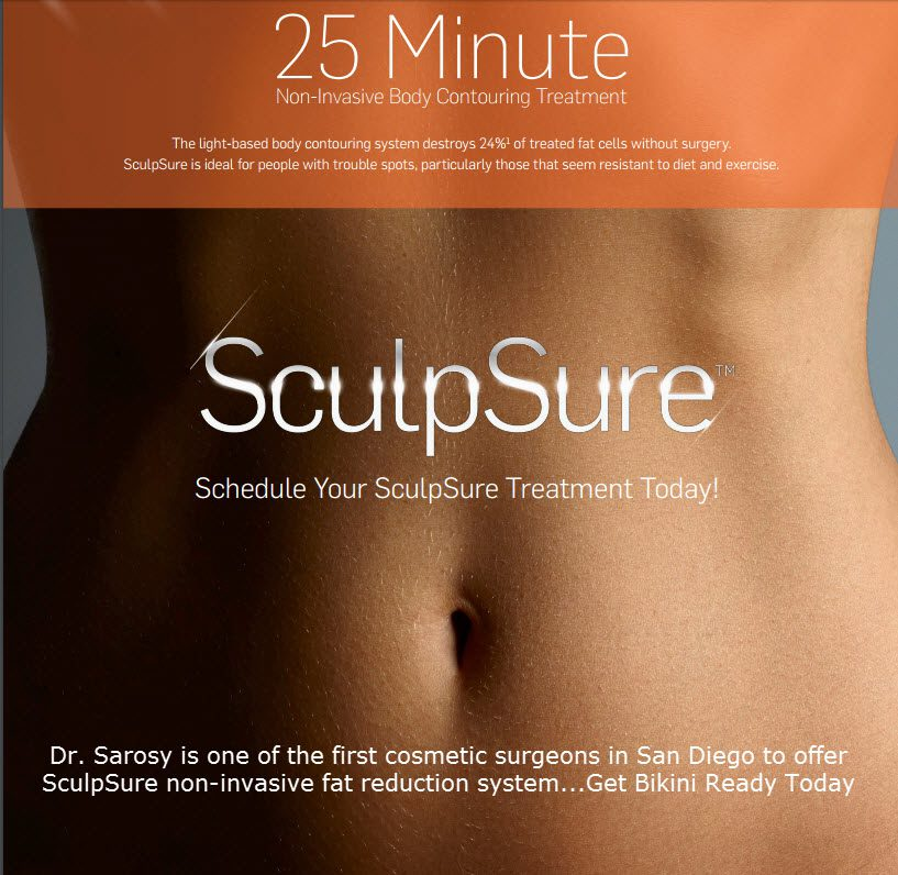 SculpSure Treatment in San Diego | CoolSculpting | SD Body Contouring